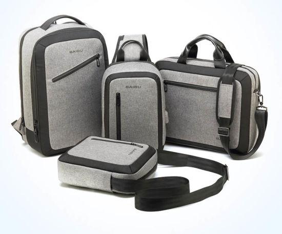Hand-Held Single Shoulder Business Leisure Travel Tablet PC iPad Computer  Notebook Laptop Conference Messenger Documents Briefcase Handbag Chest Bag