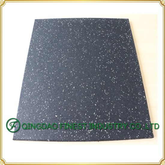 Heavy Duty En1177 Certificated Commercial Gym Rubber Flooring Mat