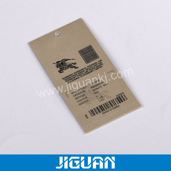 Wholesale Custom Square Luxury Paper Hang Tag