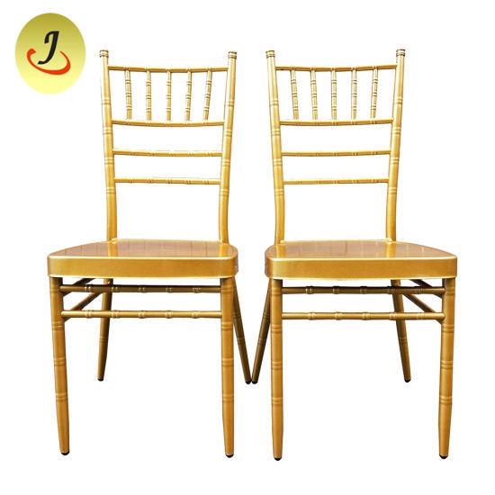 Stacking Metal Hotel Restaurant Banquet Wedding Chair/ Tiffany Chair / Chiavari Chair