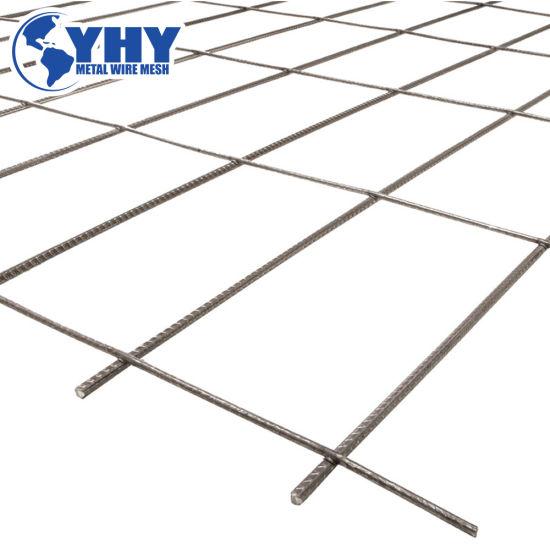 Rl718 Rectangular Structural Rebar Welded Wire Mesh for Construction