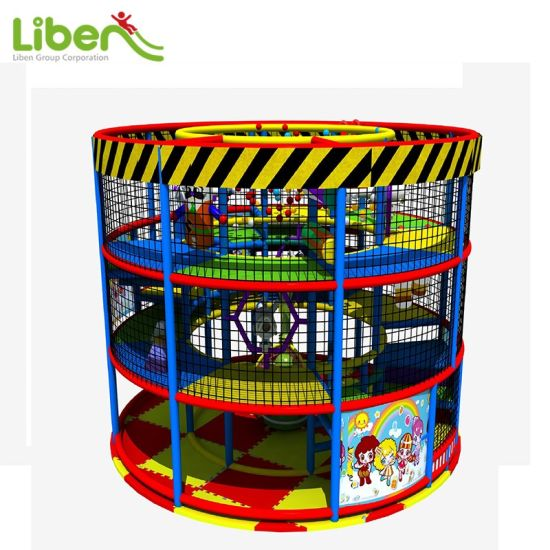 Hina Liben High Quality Used Indoor Soft Kids Play Structure pictures & photos