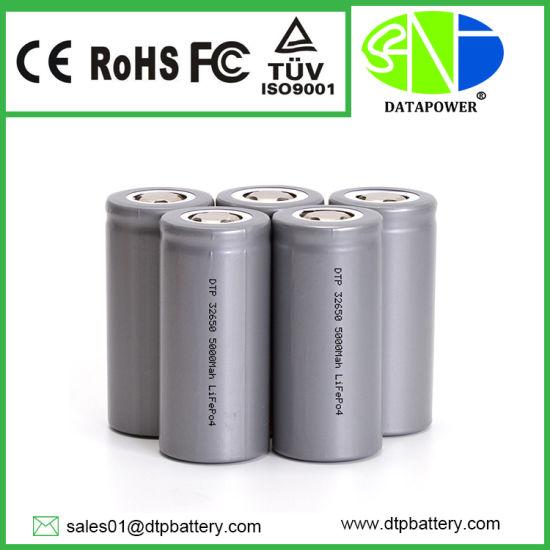 5000 mAh 3.2 Volt 32650 LiFePO4 Battery