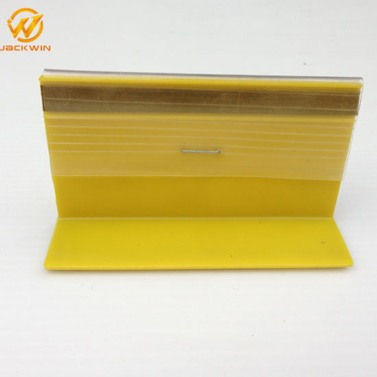 6Pcs NEW Two-Way Yellow Raised Pavement Markers Reflectors
