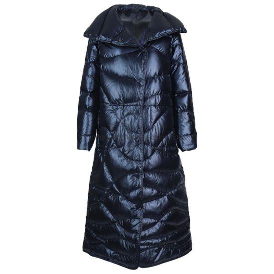 Ladies Quilting Padded Long Coat