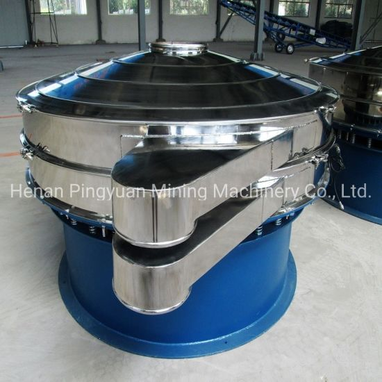 Rotary Vibrating Sieve for Vegetable Powder