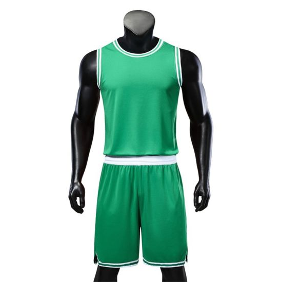 98fc3a76ab7 China 2019 New Design Uniform Green Basketball Jersey Uniform ...