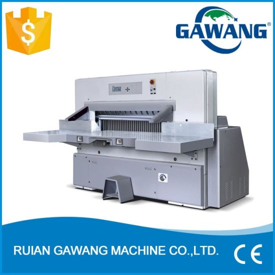 Higher Safety Factor Industrial Gift Wrapping Paper Cutting Machine with Ce Certificate
