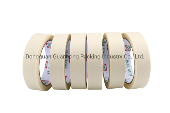 China Wholesale Economical Car Painting Masking Tape with High Temperature Resistance