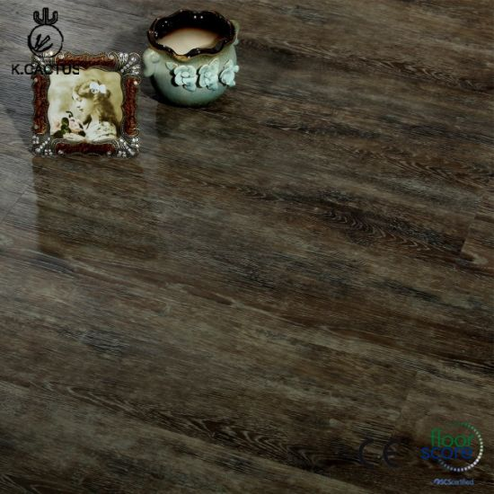 Luxury Wood Plastic Flooring WPC Vinyl Flooring with Competitive Price for Sale