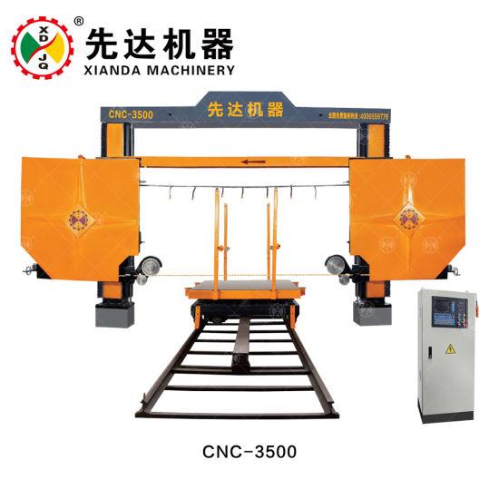 CNC Diamond Wire Saw Profiling Special Shape Machine