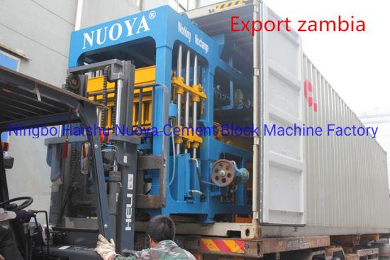 Construction Machinery Qt6-15 Automatic Hydraulic Concrete Block Making Machine Price