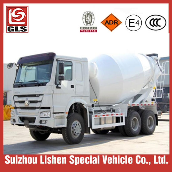 HOWO 6X4 Concrete Mixer Truck with Pump for Sale pictures & photos
