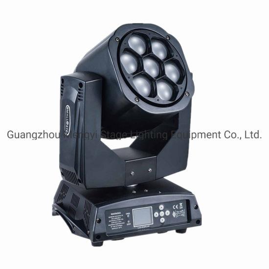 7 PCS*15W LED Moving Head Strobe Effect Background Wholesale Light