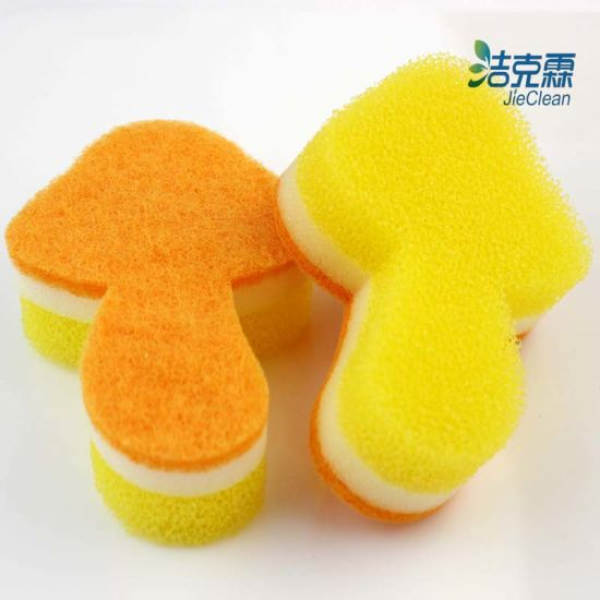 Leaf Shape Cleaning Sponge, Cleaning Sponge, Widely Use