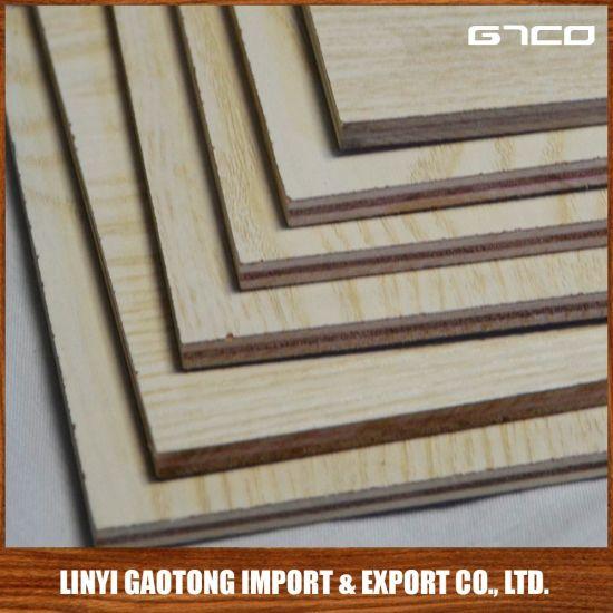 China 16mm Laminate Melamine Plywood Sheet Price Kitchen Cabinet