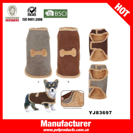 China Velveteen North-Face Dog Jacket Dog Coat (YJ83693