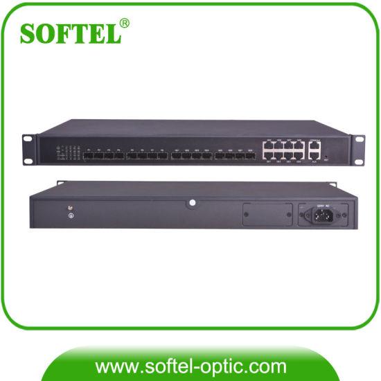 FTTH 8 Pon Gpon/Epon Olt for CATV and Ethernet