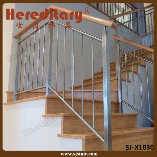 316 Stainless Steel 8mm Rod Balcony Stair Railing (SJ-X1027) pictures & photos