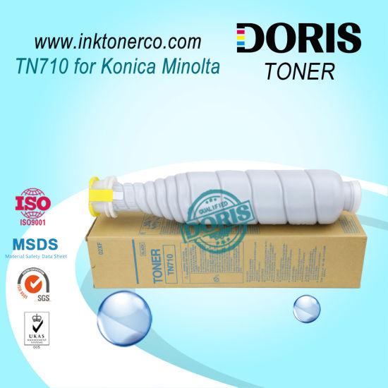 Premium Toner Cartridge Tn710 Copier for Konica Minolta Bizhub 600 / 601 / 750 / 751