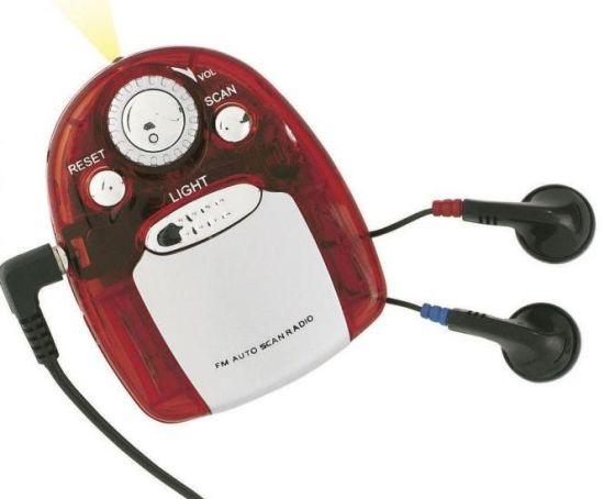 FM Auto Scan Radio