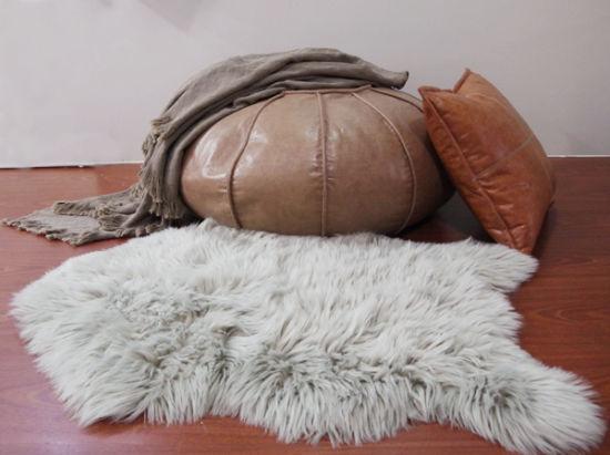 Best Selling Rugs Faux Fur Plush Carpets / Fake Fur Mats China Factory