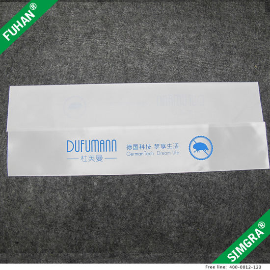 Custom Printing Polyester Satin Fabric Washing Instructions Labels