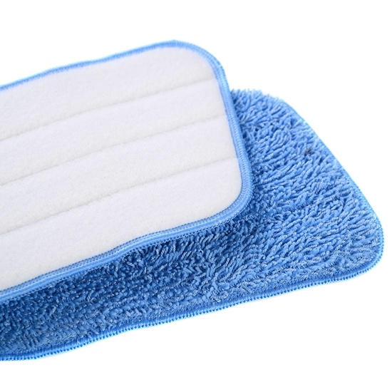 Cheap Price Microfiber Flat Wet Mop Pads pictures & photos