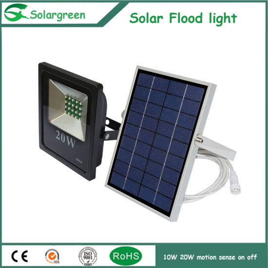Sun Power Energy Saving 10W LED Solar Motio/Flood Light