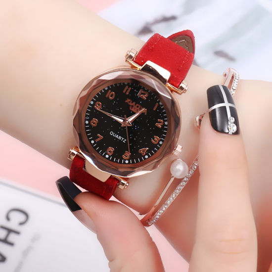 Fashion Digital Magic Watch Couple Table pictures & photos