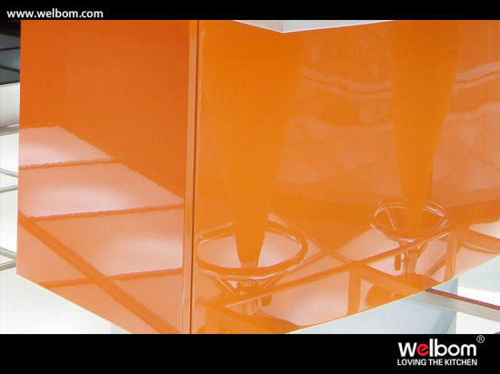 Welbom 2017 Latest Design Modern High Gloss Lacquer Kitchen Cabinet pictures & photos