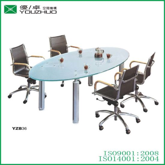 China Conference Table, 36 Round Conference Table