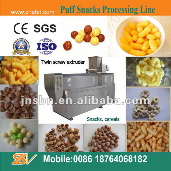 Snacks Food Extruder (SLG65/70/85) pictures & photos