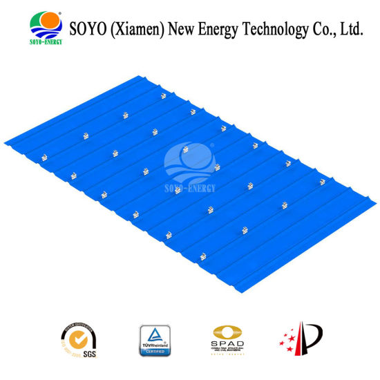 Soyo Light Weight Solar Railless Rack for Steel Roof Mounting pictures & photos