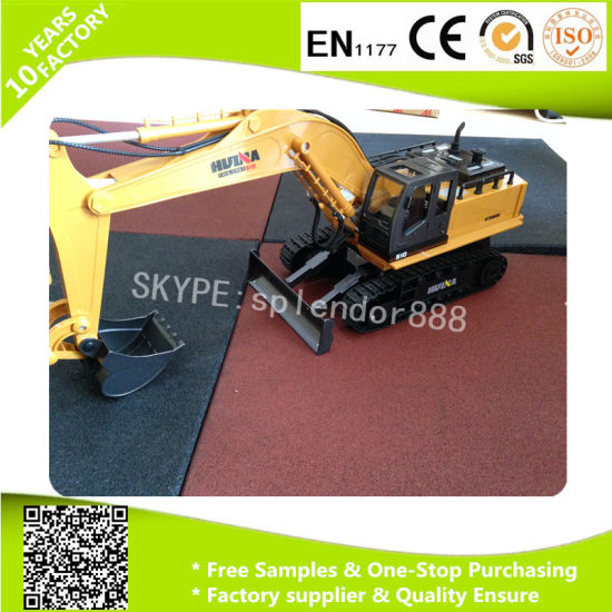 Noise Reduction Rubber Flooring High Quality Gym Flooring pictures & photos