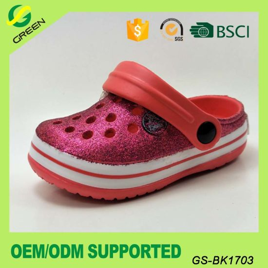 77e081c2c7c9ac Small Order Light Kids Clogs EVA Garden Shoes outdoor Beach Clogs for Girls  pictures   photos
