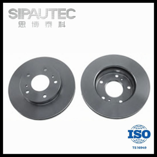 Ventilated Cast Iron Front Disc Brake Rotor for Nissan (402069C101) pictures & photos