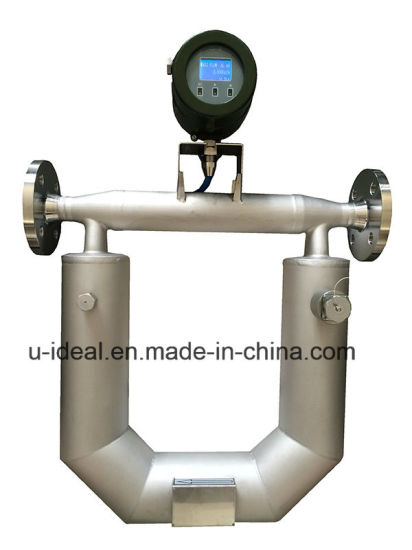 China Viscosity Density Meter Gas Air Liquid Coriolis Mass