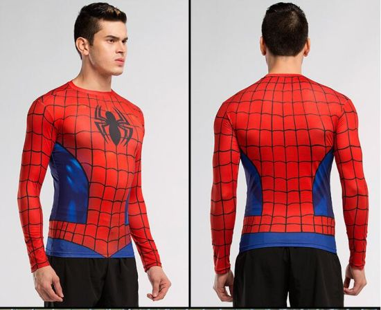 High-Order Elasticty and Breathable Men's Sports Wear Lycra Suit