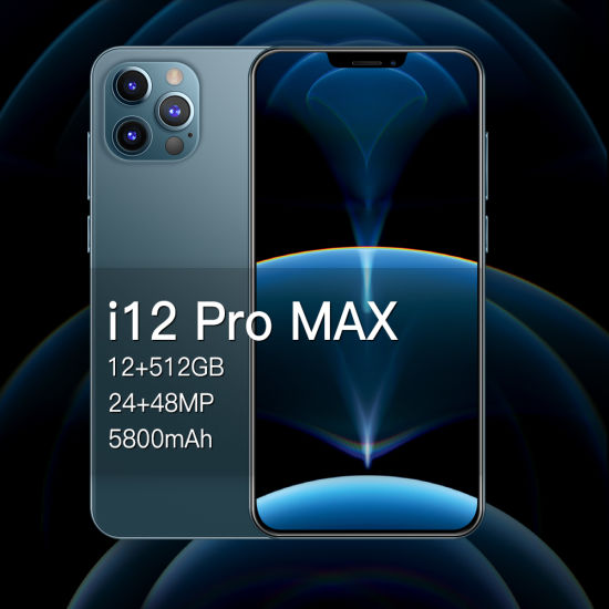 OEM Mobile Phone I12 PRO Max Cross-Border Phone 6.7inch Smart Phone Manufacturers Direct Selling Cell Phone