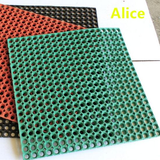 China Drainage Anti Fatigue Rubber Mat
