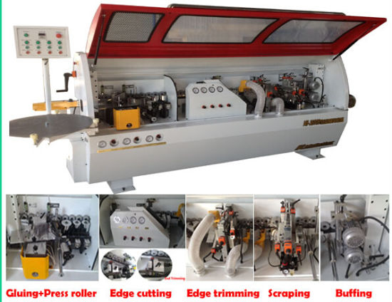 Double Trimming Automatic Edge Banding Machine/ Woodworking Machinery Industrial Edge Banding Machine pictures & photos