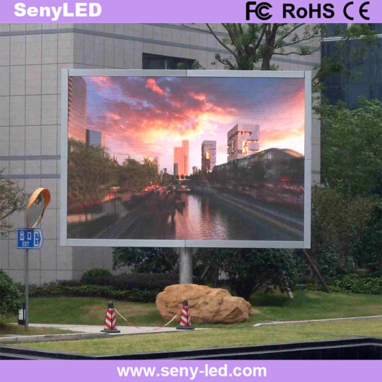 Outdoor LED Display Board Full HD Electronic Sign Board (P6mm)