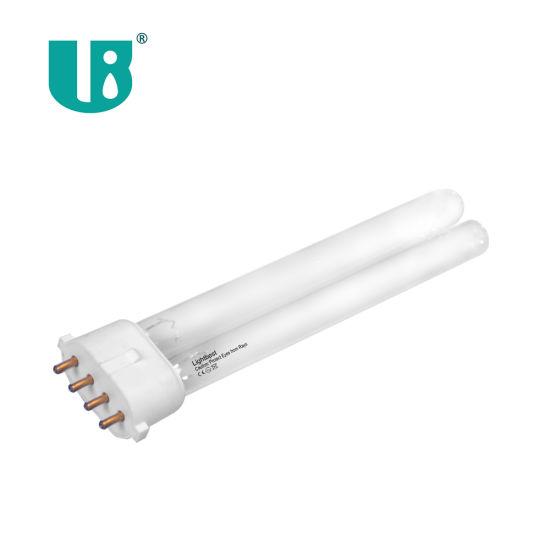 Gpl9w/4p 185nm UV Ozone Germicidal Lamp for HVAC System 9W 2g7 Room Air Purifier UV Lamp DC 12V