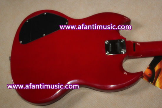 Mahogany Body & Neck / Sg Style Afanti Electric Guitar (ASG-216) pictures & photos