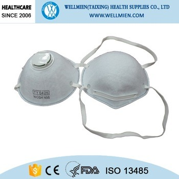 Cone N95 Safety Dust Face Mask with or Without Valve pictures & photos