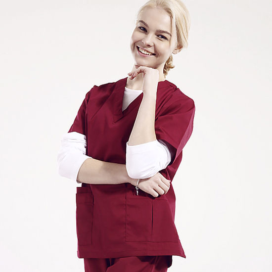 555bcca0052 Custom Hospital Uniform Clinical Medical Scrubs Uniforms pictures & photos