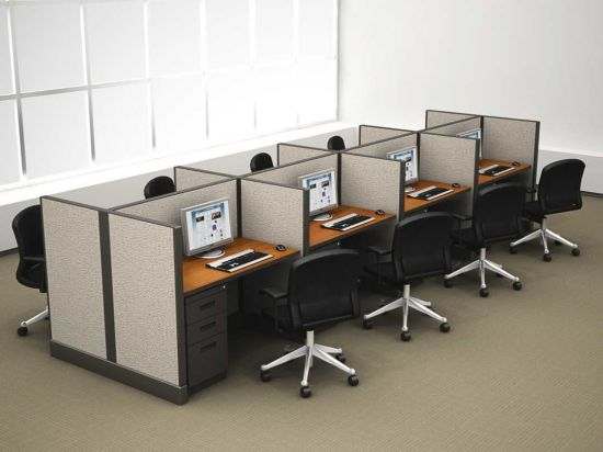 Modern open space office modern open space monochrome office with