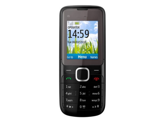 Mobile Phone Candy Bar C1 01 For Nokia Original Cell
