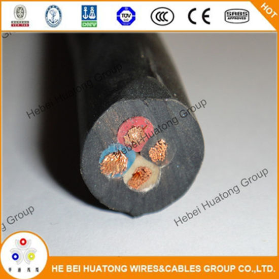 China 6/4 Soow Wire Cord Cable Portable Power 6 Gauge 4 Conductor ...